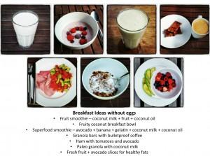 Egg Free Breakfast Ideas