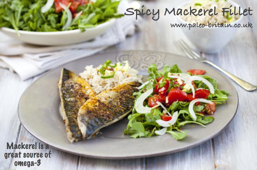 Spicy Mackerel Fillet
