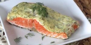 10 Minute Creamy Dill Salmon