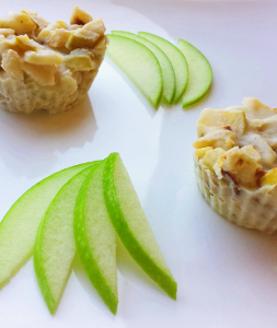 Apple Pie Coconut Butter Treats