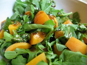 Apricot and Arugula Salad