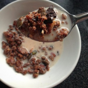 PALEO CHOCOLATE ORANGE SUPERFOOD GRANOLA