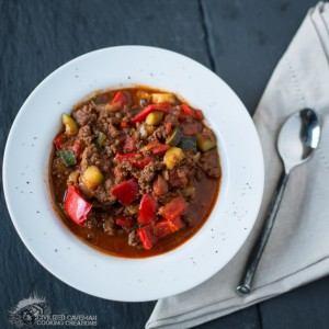 Spicy Elk Chili
