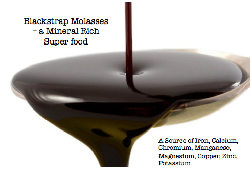 Blackstrap Molasses – a mineral-rich superfood
