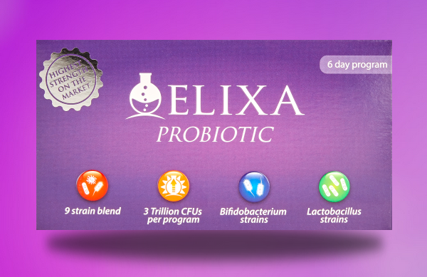Elixa Probiotic – a new UK manufactured, high-strength probiotic