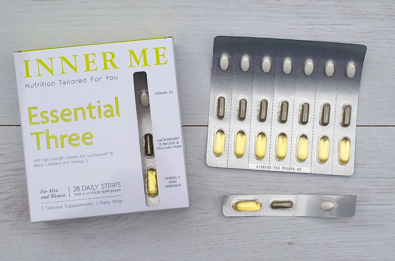 Review of Inner Me Supplements Essential Three