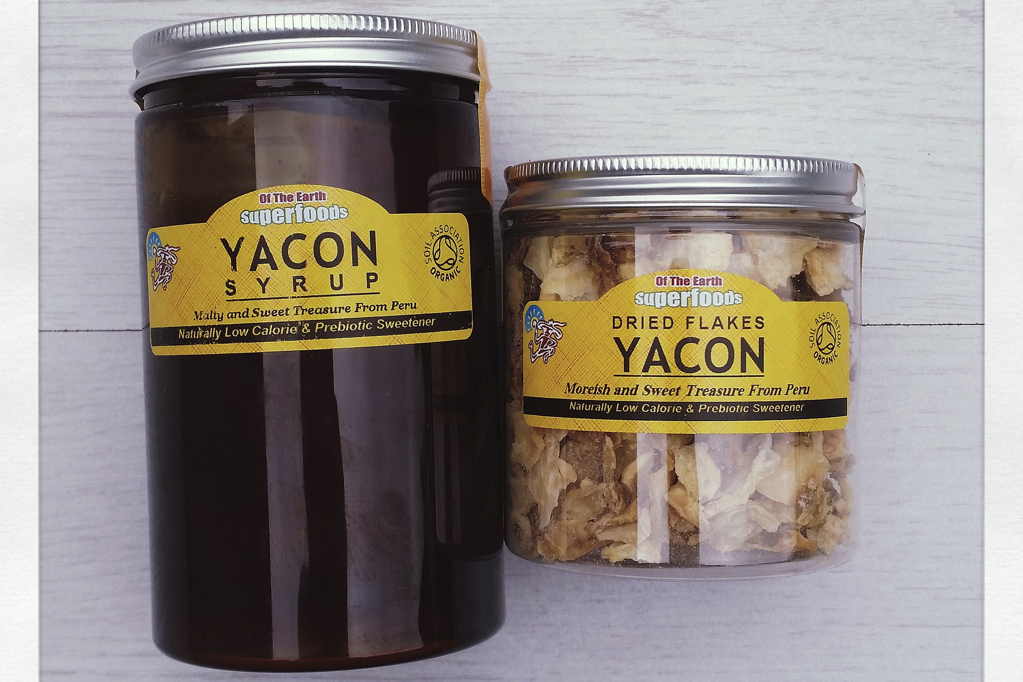 Yacon Syrup & Yacon Flakes – Prebiotics for Gut Health
