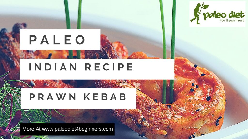 1 Prawn Kebab