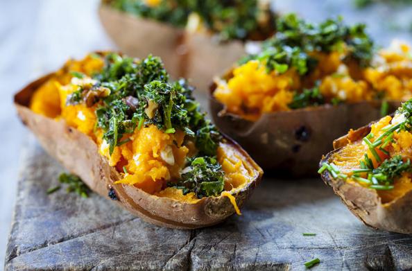 Sweet Potatoes Nutrient Foods