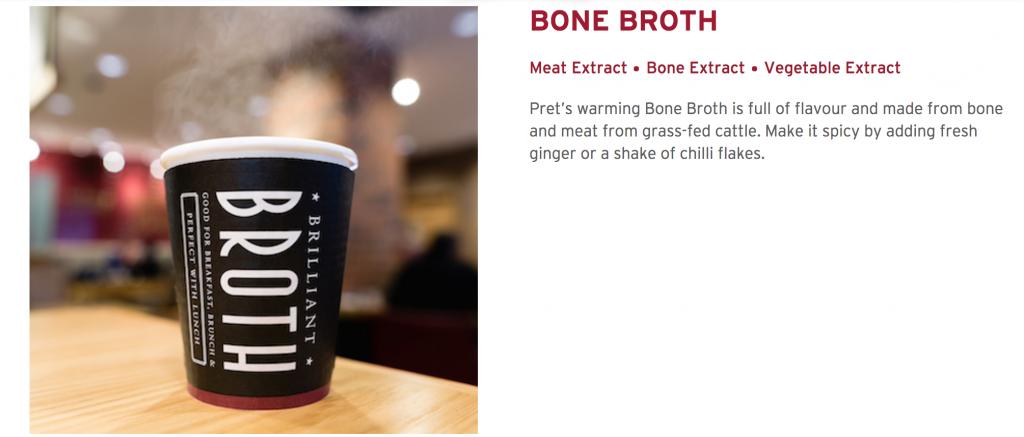 Paleo Pret Bone Broth