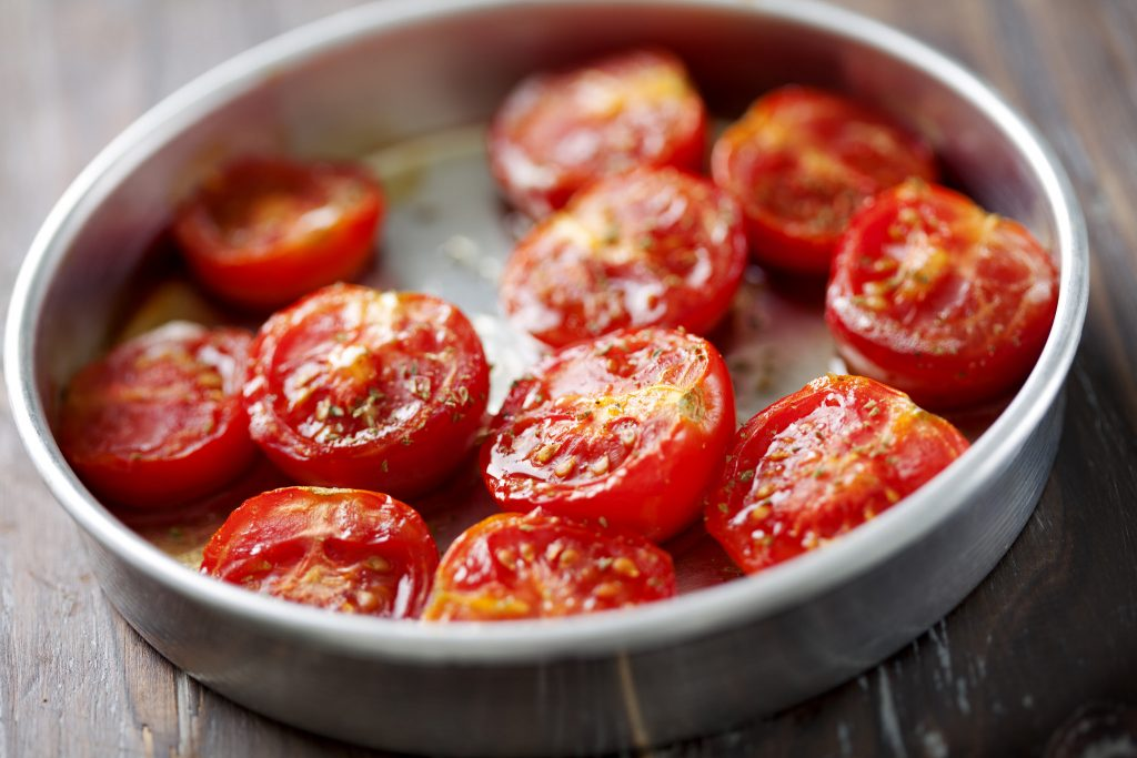Slow Roast Tomatoes July