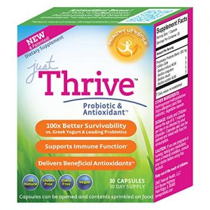 Just Thrive Probiotic Gut Health