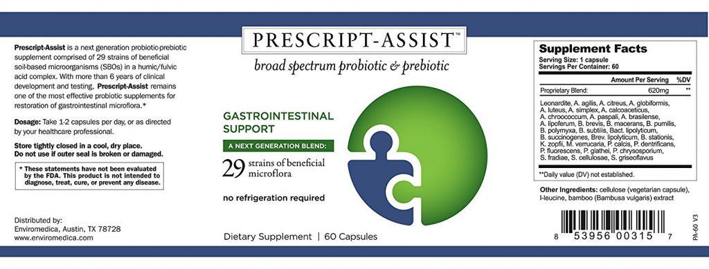 Prescript Assist Back Gut Health