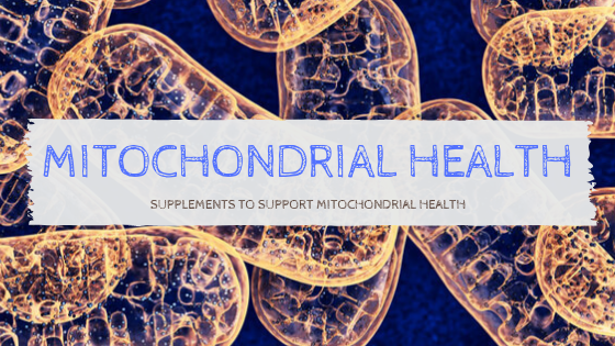 Mitochondrial Health – Increase Energy & Slow Down Ageing