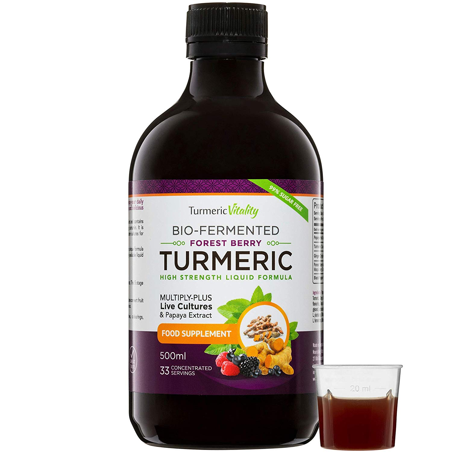 New Bio-Fermented Turmeric Supplement!