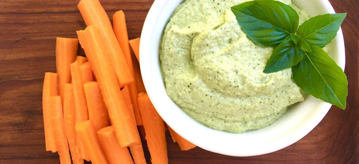 Courgette Hummus