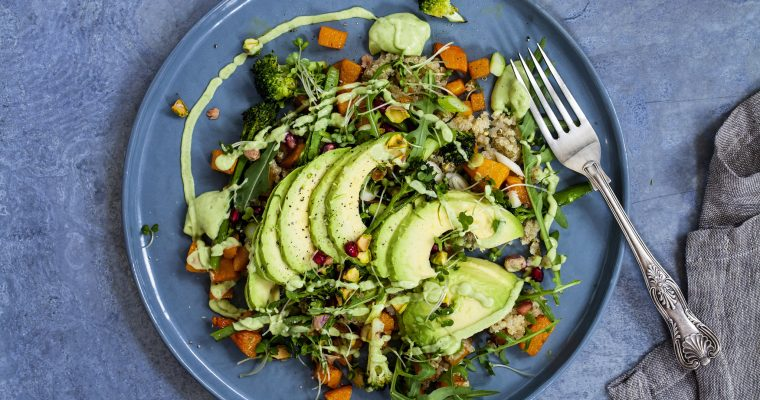 Avocado & Quinoa Salad