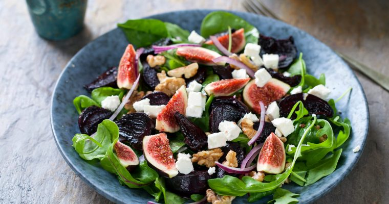Roast Beetroot, Fig & Feta Salad
