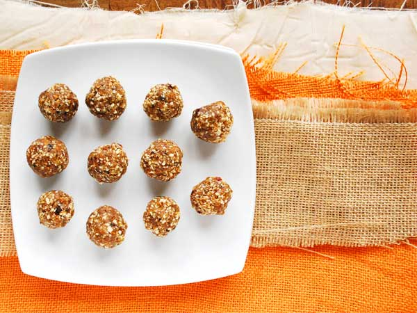 Orange Spice Energy Balls