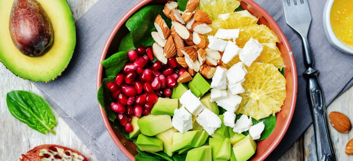 Feta & Avocado Salad Bowl