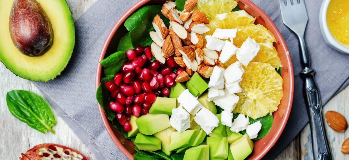 Feta & Avocado Salad Bowl
