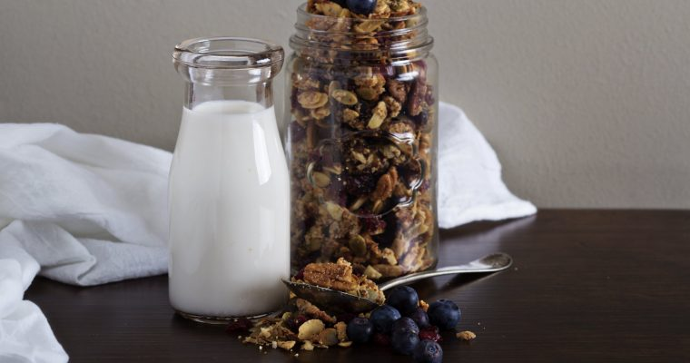 Blueberry & Ginger Granola